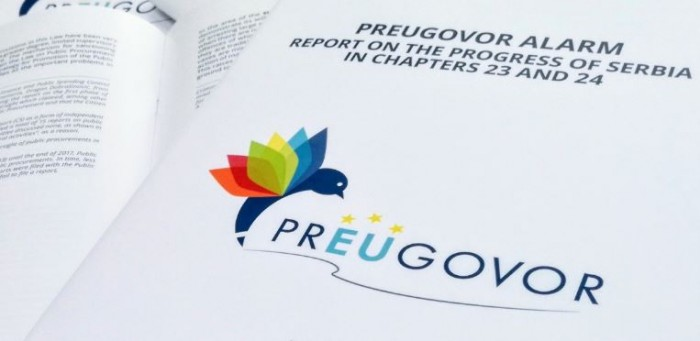 Presenting prEUgovor Alarm report on reforms within chapters 23 and 24