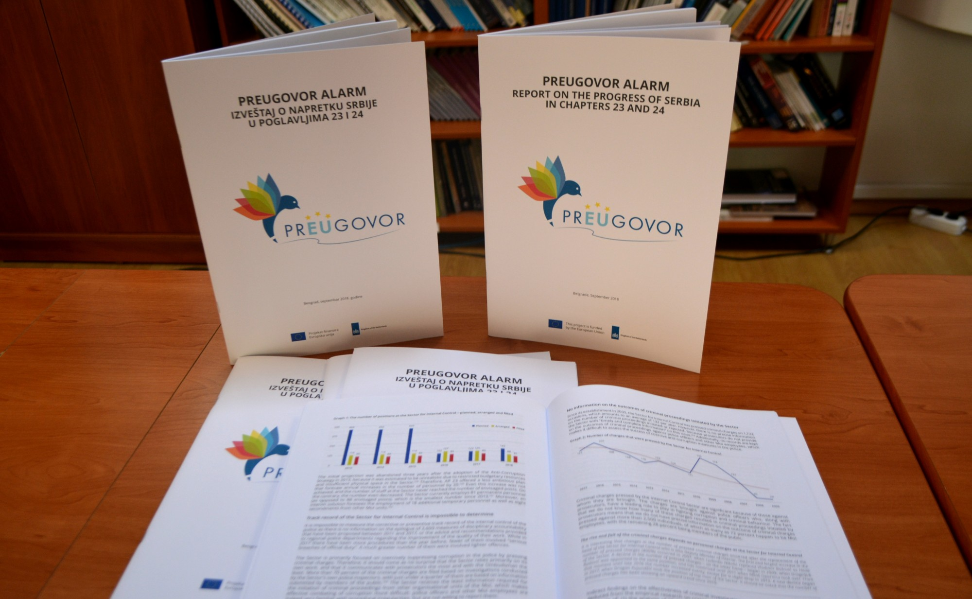 Coalition prEUgovor Report on Progress of Serbia in Chapters 23 and 24 - September 2018